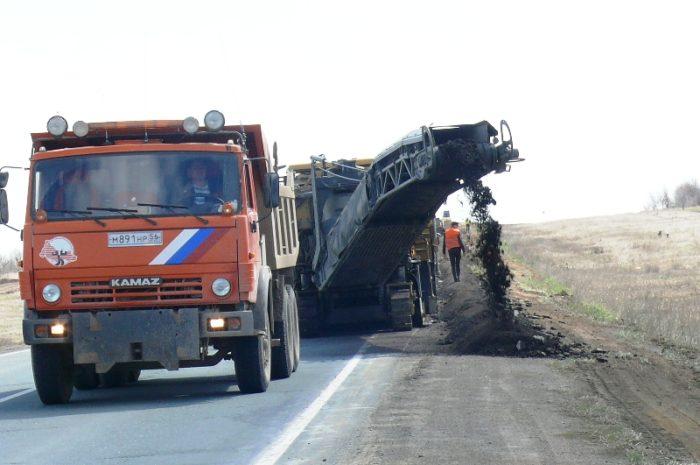 Ремонт дорог в Новоорском поссовете завершён