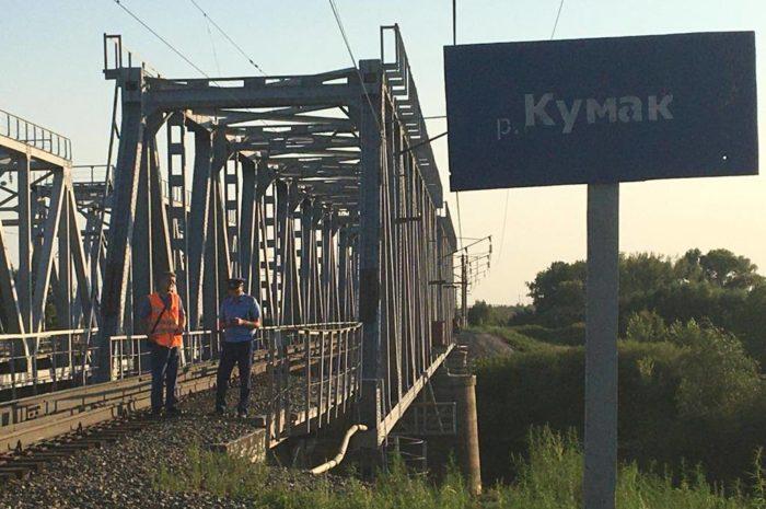 Трагедия на железнодорожном мосту