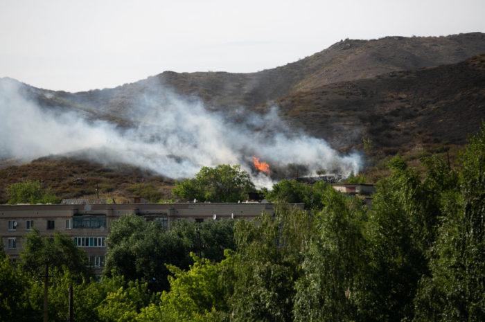 160 пожаров зарегистрировано в районе с начала года