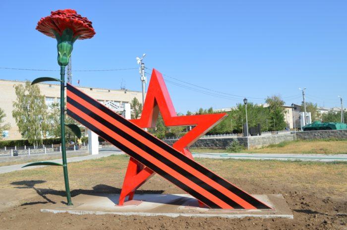 Звезда вернулась в Парк Победы в требуемом качестве